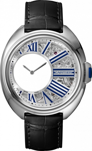 Clé de Cartier 41 Mysterious Hours Palladium