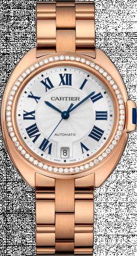 Clé de Cartier 35 Pink Gold / Diamonds/ Bracelet