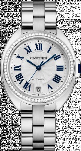 Clé de Cartier 35 White Gold / Diamonds / Bracelet