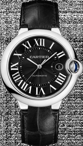 Ballon Blue de Cartier 42 Automatic Stainless Steel / Black
