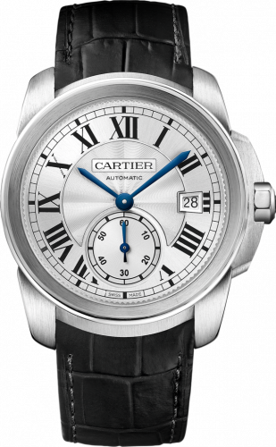 Calibre de Cartier 38 Stainless Steel / Silver