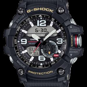 G-Shock Mudmaster Twin Sensor Black / Black