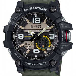 G-Shock Mudmaster Twin Sensor Black / Green