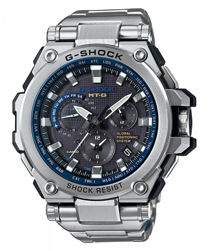 G-Shock MT-G G1000 Steel / Black / Blue