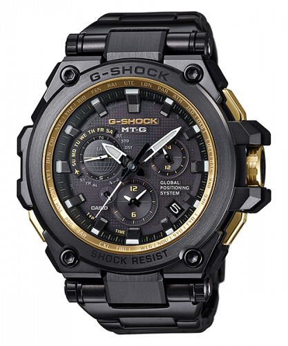 G-Shock MT-G G1000 Black / Gold