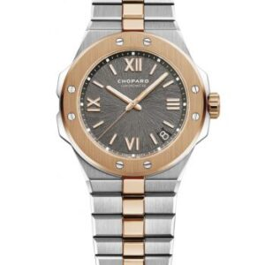 Alpine Eagle 41 Stainless Steel / Rose Gold / Grey