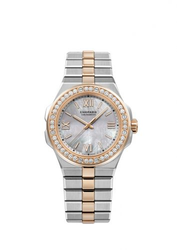 Alpine Eagle 36 Stainless Steel / Rose Gold / Diamond / MOP