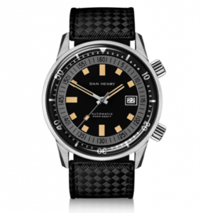 Dan Henry 1970 Automatic Diver 40 Black-Grey / Stainless Steel