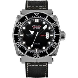 Diver Automatic Black / Calf