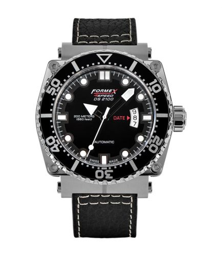 Diver Automatic Black / Calf