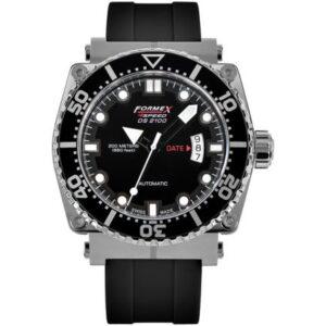 Diver Automatic Black / Rubber