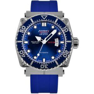 Diver Automatic Blue / Rubber