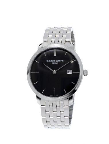Slimline Automatic Black Bracelet