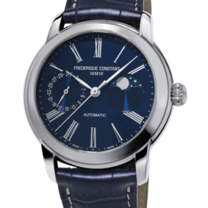 Classic Moonphase Manufacture Stainless Steel / Blue