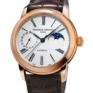 Classic Moonphase Manufacture Rose Gold Plated / Silver