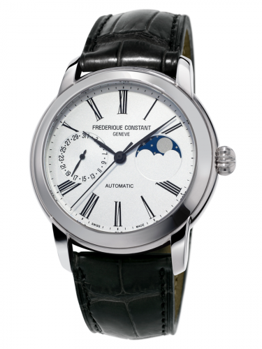 Classic Moonphase Manufacture Stainless Steel / Silver