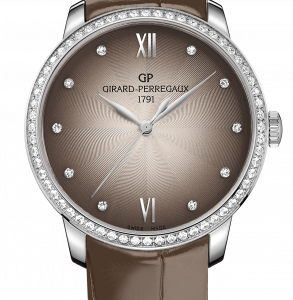 1966 36mm Stainless Steel / Diamond / Taupe / Alligator