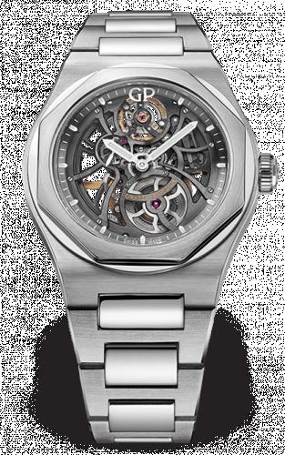 Laureato 42 Automatic Skeleton Stainless Steel / Bracelet