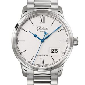 Senator Excellence Panorama Date Stainless Steel / Silver / Bracelet