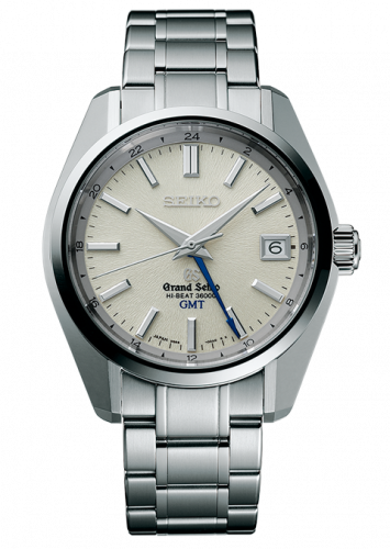 Automatic GMT Stainless Steel / Cream / Bracelet