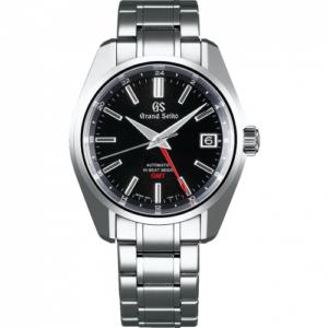 Automatic Hi Beat 36000 GMT Stainless Steel / Black  / Bracelet