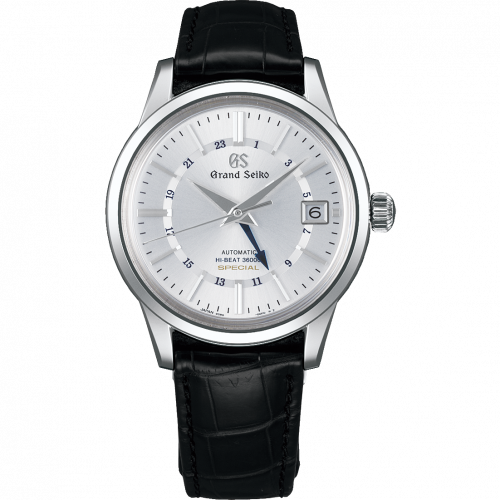Automatic Hi Beat 36000 GMT Special White Gold / Silver / Strap