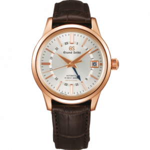 Automatic Hi Beat 36000 GMT Special Pink Gold / Silver / Strap