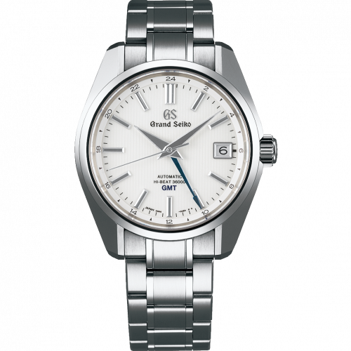 Automatic Hi Beat 36000 GMT Titanium / White / Bracelet