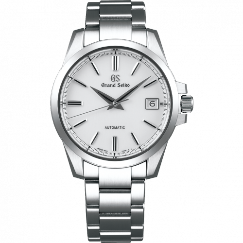 Automatic Date Stainless Steel / White / Bracelet