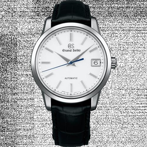 Automatic Date Titanium / White / Bracelet / First Grand Seiko