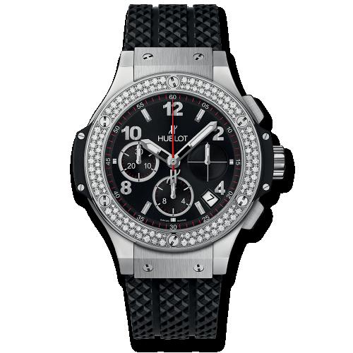 Big Bang 41 Stainless Steel / Diamond / Black
