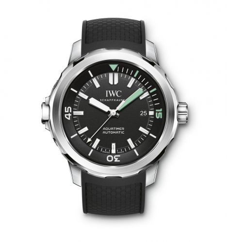Aquatimer Automatic Stainless Steel / Black / Rubber