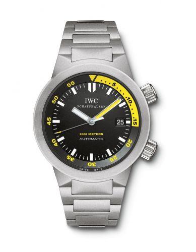 Aquatimer 2000 Titanium / Black / Bracelet