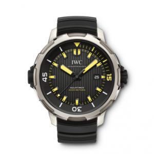 Aquatimer Automatic 2000 Titanium / Black / Yellow Lume / Rubber