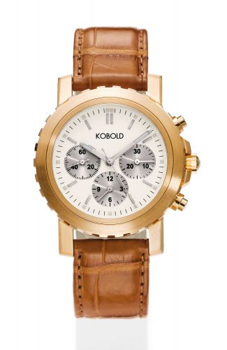 Soarway Chronograph Red Gold / White