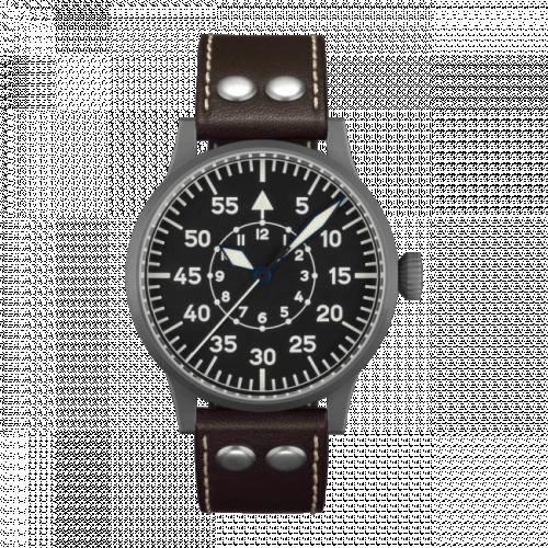 Pilot Watch Original Leipzig Stainless Steel / Black