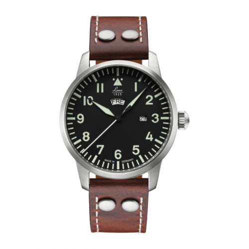 Pilot Watch Basic Genf Stainless Steel / Black