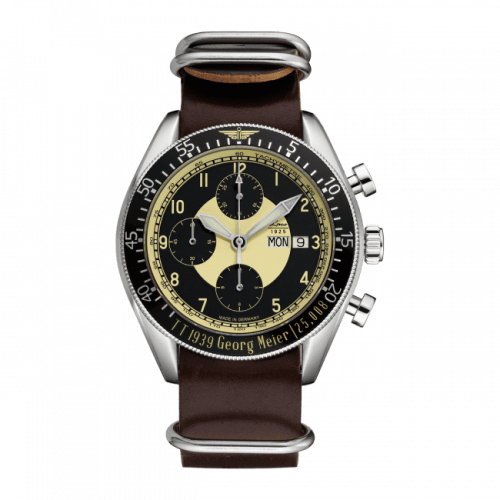 Editions Mission Manx / Stainless Steel / Black