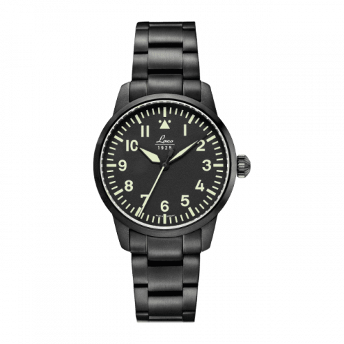Pilot Watch Basic Stockholm Stainless Steel / Black