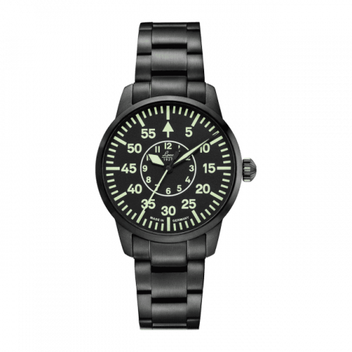 Pilot Watch Basic Visby Stainless Steel / Black