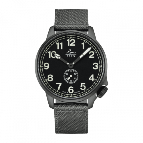 Pilot Watch Special Models JU / Stainless steel / Black