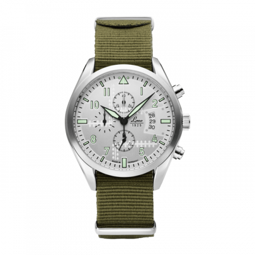 Chronographs Seattle / Stainless Steel / Silver