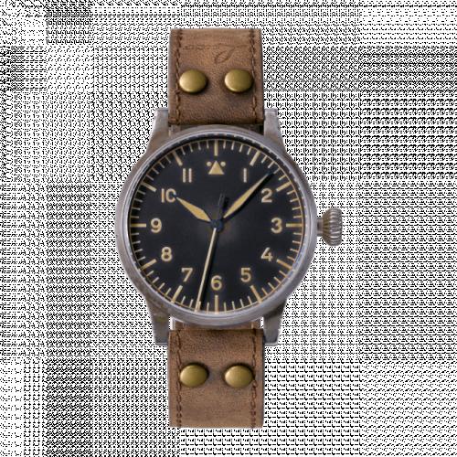 Pilot Watch Original Saarbrücken Erbstück Stainless Steel / Black