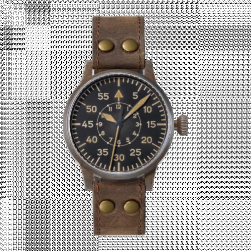 Pilot Watch Original Dortmund Erbstück Stainless Steel / Black