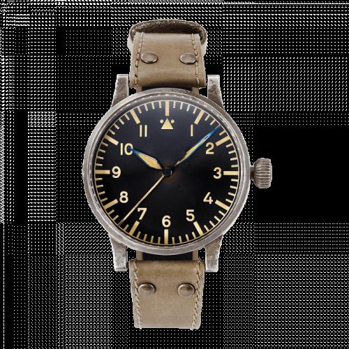 Pilot Watch Original Replika 55 Erbstück Stainless Steel / Black