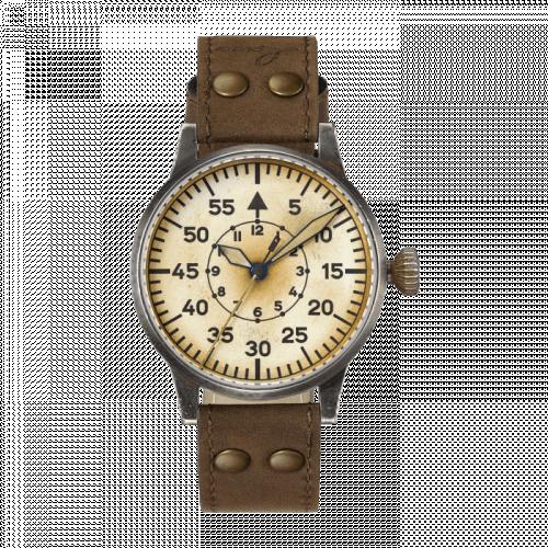 Pilot Watch Original Graz Erbstück Stainless Steel / Superluminova