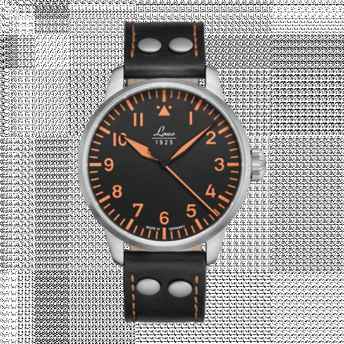 Pilot Watch Basic Neapel Stainless Steel / Black
