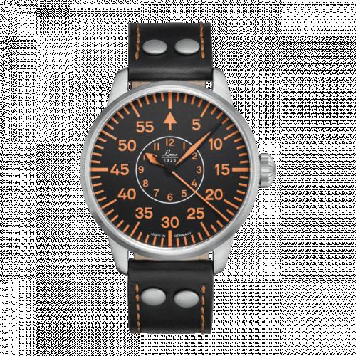 Pilot Watch Basic Palermo Stainless Steel / Black