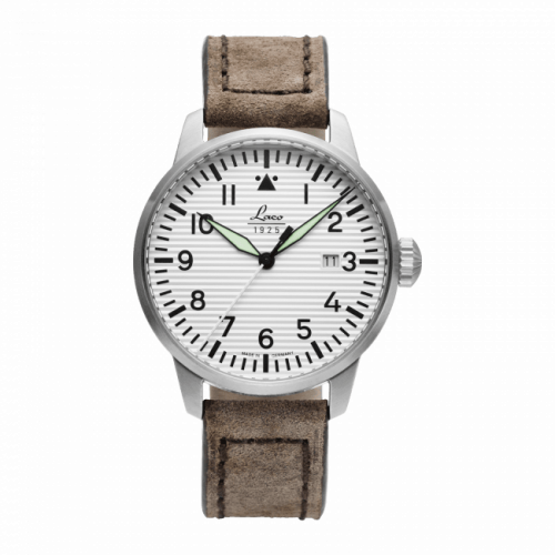 Pilot Watch Special Models Basel / Stainless Steel / White
