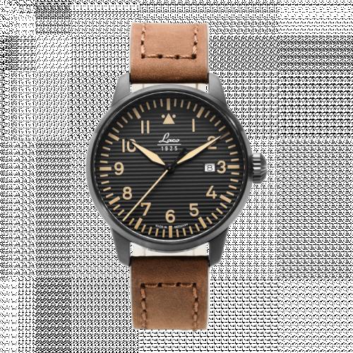 Pilot Watch Special Models St. Gallen / Stainless Steel / Black